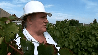 Gérard Depardieu dans ses vignes  (France3/culturebox)