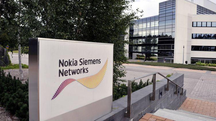 Le siège de Nokia Siemens Network, situé à Espoo (Finlande), le 17 août 2011. (JUSSI NUKARI / LEHTIKUVA / AFP)