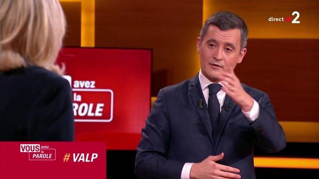 You have the floor: Marine Le Pen and Gérald Darmanin discuss the issue of wearing the veil