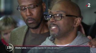États-Unis : trois hommes innocentés après 36 ans de prison (FRANCE 2)