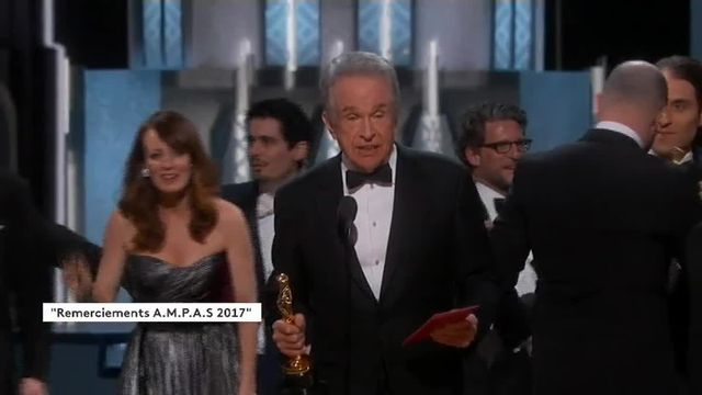 Cafouillage aux Oscars