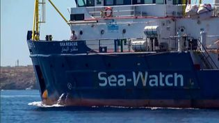 Un bateau humanitaire Sea Watch en Méditerranée, le 26 juin 2019. (AFP/ LOCALTEAM)