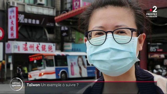 Coronavirus : Taïwan a endigué l'épidémie sans confiner ses habitants