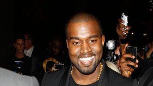 Kanye West à Paris en septembre 2012.  (Christophe Clois / MaxPPP)