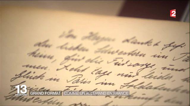 Grand format : la vie des soldats allemands en France pendant l'occupation