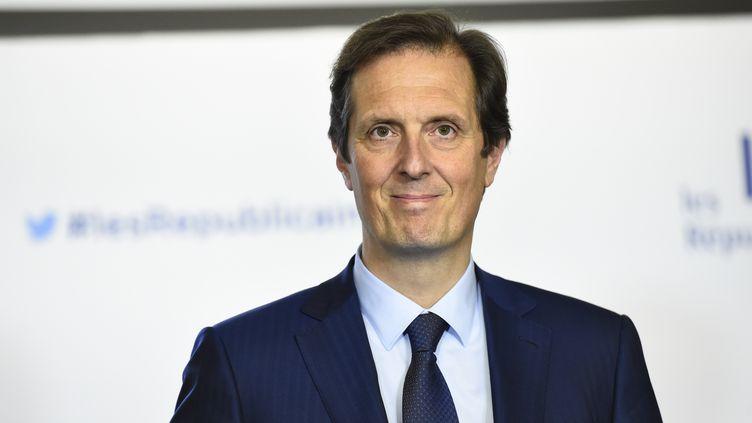 Le député de Seine-et-Marne, Jérôme Chartier, le 29 novembre 2016 à Paris. (BERTRAND GUAY / AFP)