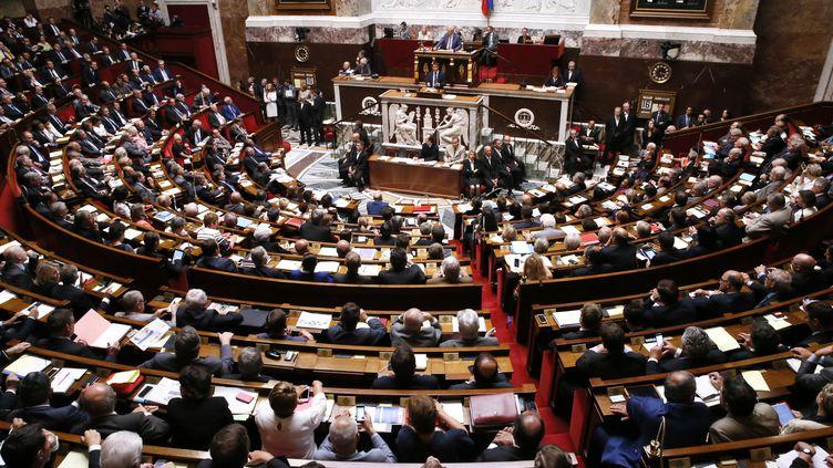 Les députés écoutent le discours de politique générale du Premier ministre, Manuel Valls, mardi 16 septembre 2014. (GONZALO FUENTES / REUTERS)