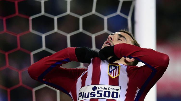 Antoine Griezmann encore décisif avec l'Atletico (JAVIER SORIANO / AFP)