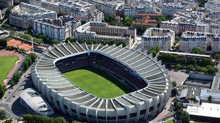 Le Parc des Princes, dans le 16e arrondissement de Paris. (LOIC VENANCE / AFP)