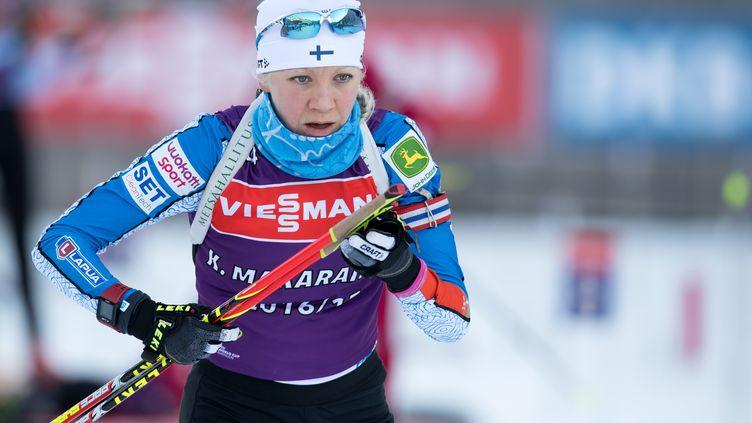 La biathlète finlandaise Kaisa Makarainen (SVEN HOPPE / DPA)