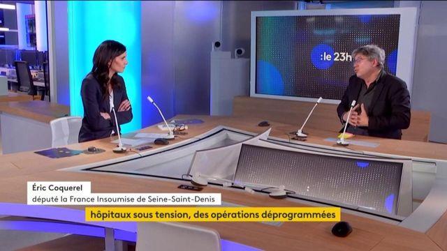 """Covid-19 : Éric Coquerel, député la France Insoumise, appelle à ne """"pas agiter des menaces"""" contre les Français"""