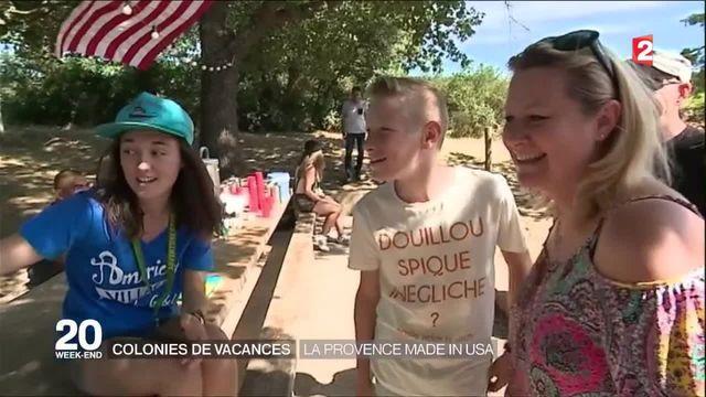 Alpes-de-Haute-Provence : une colonie de vacances pour apprendre l'anglais