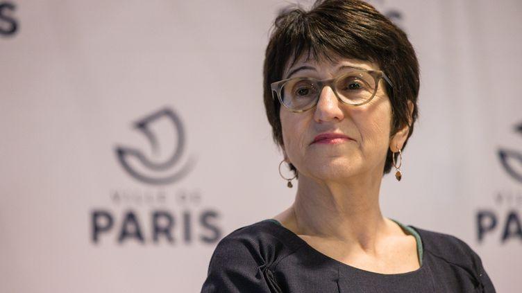 Dominique Versini, adjointe à la mairie de Paris en charge des solidarités et de l'accueil des réfugiés. (AURELIEN MORISSARD / MAXPPP)