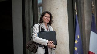 La ministre de la Santé Agnès Buzyn quitte le palais de l'Elysée (Paris), le 22 mai 2019. (ARTHUR NICHOLAS ORCHARD / HANS LUCAS / AFP)