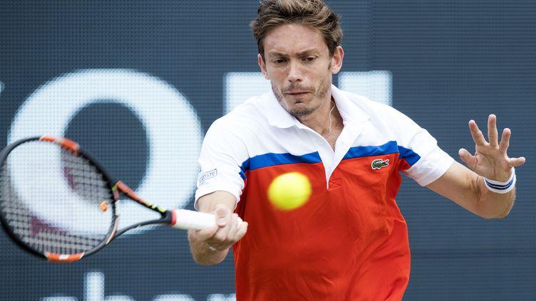 Le serveur-volleyeur Nicolas Mahut (KOEN SUYK / ANP)