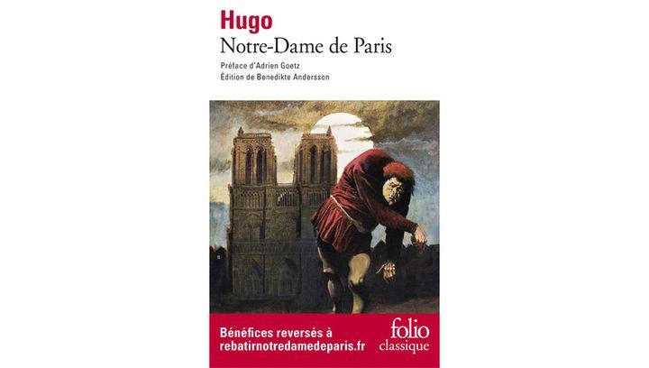 "Couverture de ""Notre-Dame de Paris"", de Victor Hugo (Folio, avril 2019) (Folio)"