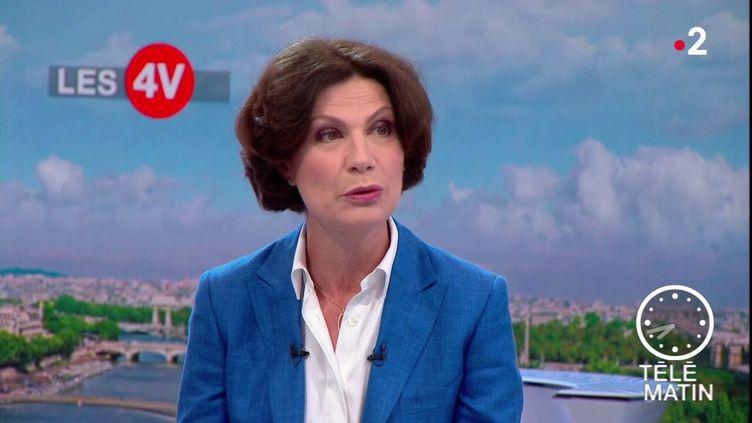 Dominique Carlac'h, candidate à la présidence du Medef (France 2)