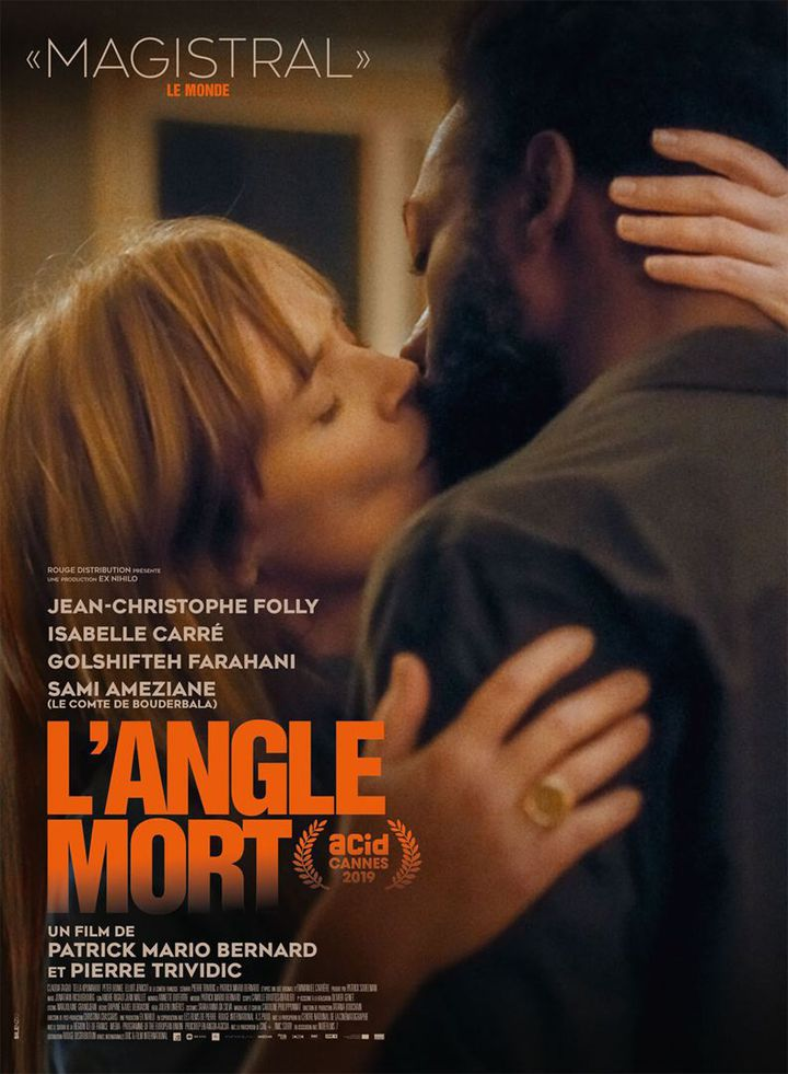"""L'affiche de """"L'Angle mort"""" dePatrick-Mario Bernard et Pierre Trividic. (Rouge Distribution)"""