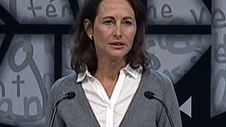 Ségolène Royal au congrès de Reims, en novembre 2008. (France 3)