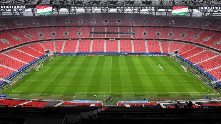 Le match de Ligue des champions Leipzig-Liverpool se jouera finalement à la Puskas Arena, à Budapest. (ATTILA KISBENEDEK / AFP)