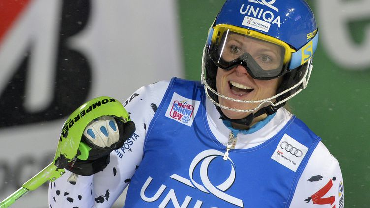 La Slovaque Veronika Velez-Zuzulova (SAMUEL KUBANI / AFP)