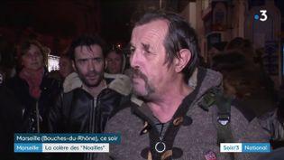 Des Marseillais en colère (France 3)