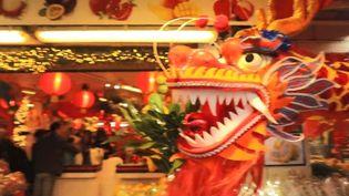Le 13e arrondissement de Paris se prépare au Nouvel An chinois (FRANCEINFO)