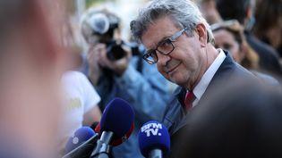 Jean-Luc Mélenchon, leader de La France insoumise, à Paris (France) le 24 septembre 2021 (THOMAS COEX / AFP)
