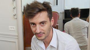 Thomas Jolly dans sa loge du Palais Garnier le 9 septembre 2016  (Lorenzo Ciavarini Azzi/Culturebox)