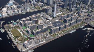 Vue aérienne du village olympique de Tokyo. Photo d'illustration. (AFP)