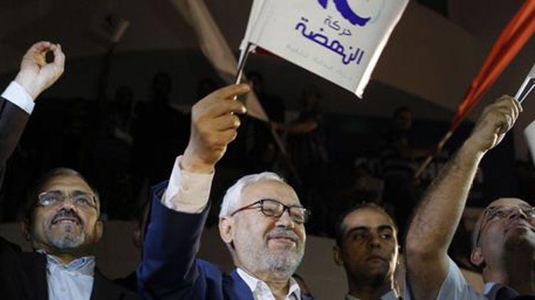 Rached Ghannouchi lors du congrès d'Ennahda à Tunis, le 27 octobre 2017. (REUTERS - Zoubeir Souissi )
