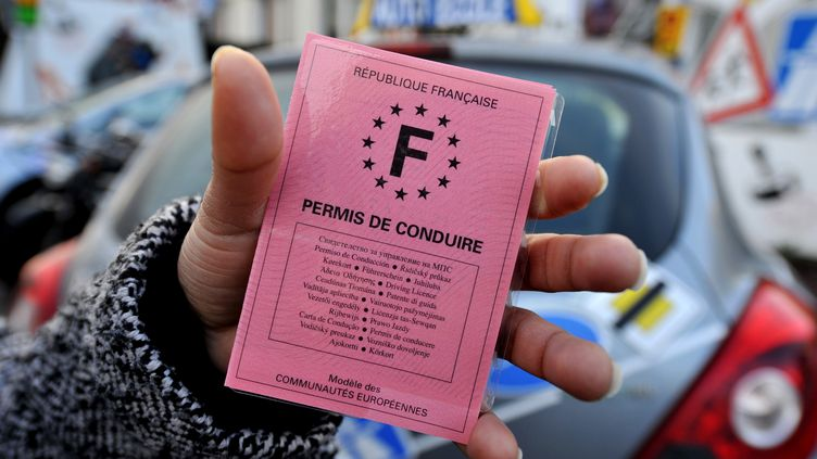 Un permis de conduire. (MYCHELE DANIAU / ARCHIVES)
