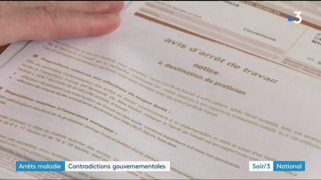 Arrêts maladie : contradictions gouvernementales