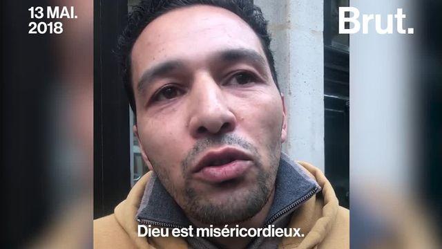 Au lendemain de l'attaque au couteau perpétrée samedi soir rue Monsigny à Paris, Samir s'est rendu sur le lieu du drame.