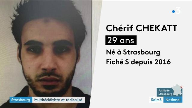 Attentat de Strasbourg : le parcours chaotique de Cherif Chekatt
