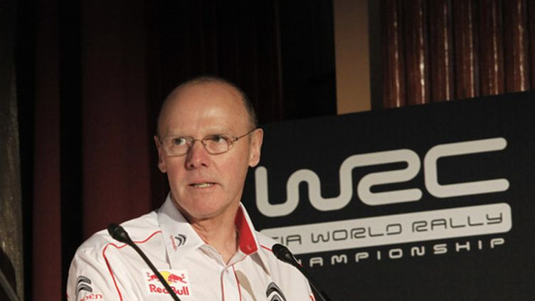 Olivier Quesnel, directeur de Citroën Racing