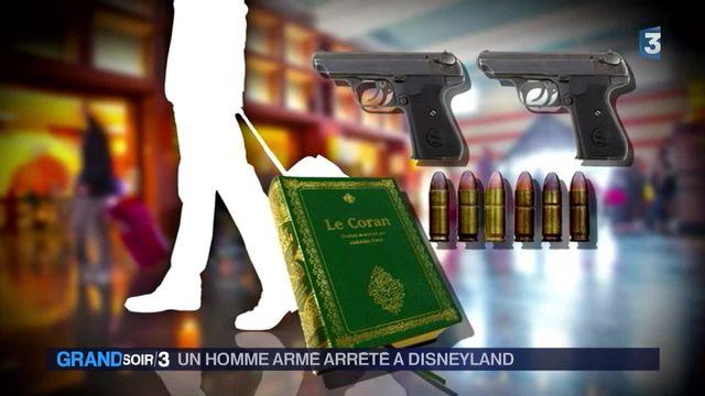 Euro Disney : un homme armé arrêté