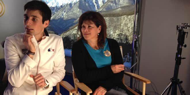 La mère et le fils auront passé ces Jeux Olympiques jamais loin de l'autre