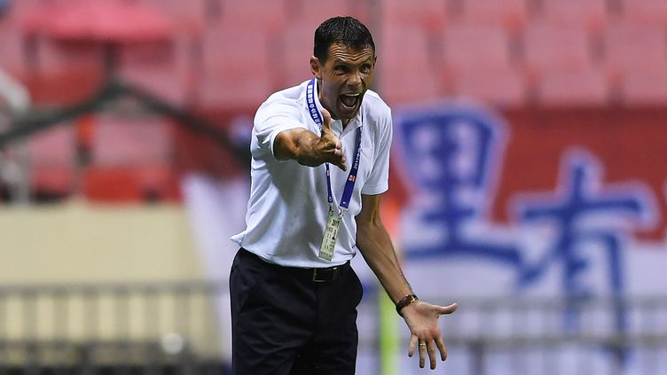L'entraîneur uruguayen Gustavo Poyet (XIA LEI / IMAGINECHINA)