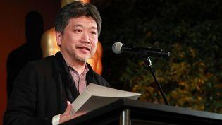 Le réalisateur japonais Hirokazu Kore-Eda, en répétition pour les Oscars 2019  (Rich Fury / GETTY IMAGES NORTH AMERICA / AFP)