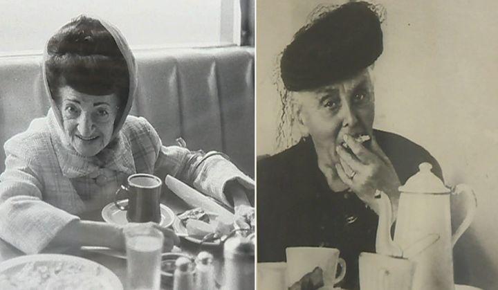D'un côté une photo de Bernard Plossu et de l'autre un anonyme captent ce moment délicieux du goûter  (France 3 / Culturebox / Capture d'écran)