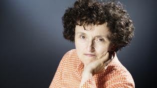 """Marie-Hélène Lafon dépeint, dans """"Histoire du fils"""", le destin d'une famille du Cantal. (JOEL SAGET / AFP)"""