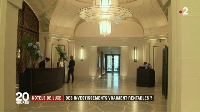 Hôtels de luxe : des investissements vraiment rentables ?
