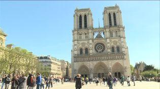 Notre-Dame de paris, avril 2018 (E. Tixier / France télévisions)
