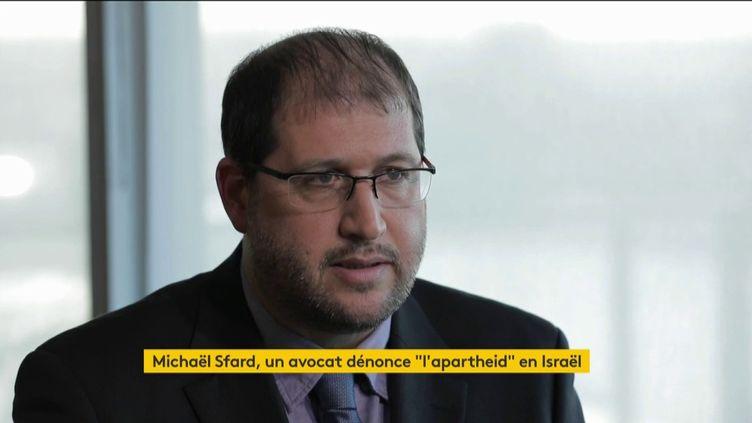 L'avocat Michaël Sfard (FRANCEINFO)