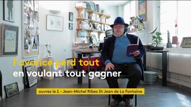 """VIDEO. Jean-Michel Ribes lit la fable """"La Poule aux œux d'or"""" de Jean de La Fontaine"""