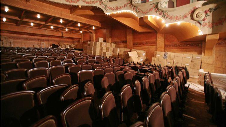 La salle de spectacle du Palace, à Paris, après sa rénovation, le 10 octobre 2008. (DUCLOS / SIPA)