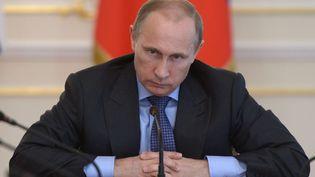 Le président russe Vladimir Poutine, le 30 juillet 2014, à Moscou (Russie). (ALEXEI NIKOLSKY/AP/SIPA / AP)