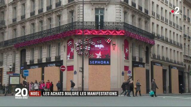"""Gilets jaunes"" : quand les manifestants perturbent les achats de Noël"