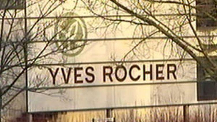 La Gacilly dans le Morbihan, la commune où Yves Rocher a créé l'entreprise qui porte son nom et compte 15.000 salariés. (F2)